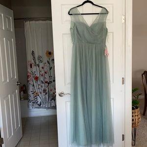 NWT Birdy Grey Sage Green Bridesmaid dress